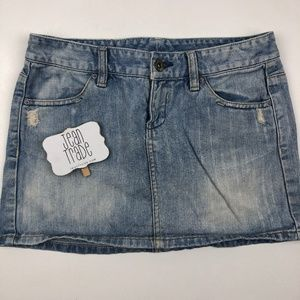 A/X Armani Exchange Jean Skirt